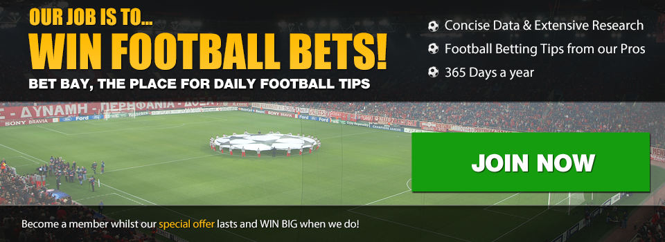 Join for Bet Bay's football tips!